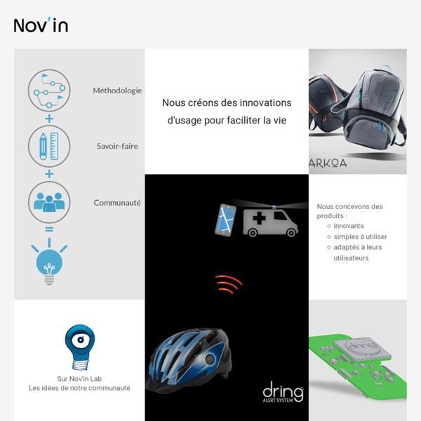 Nov'in : participez au développement de nouveaux produits innovants
