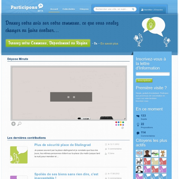 Participons.fr