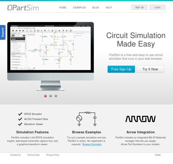 Online Circuit Simulator with SPICE