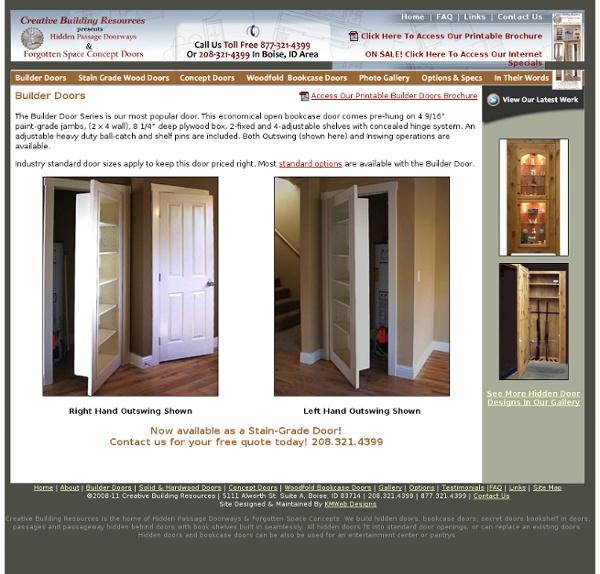 Forgotten Space Concept Doors
