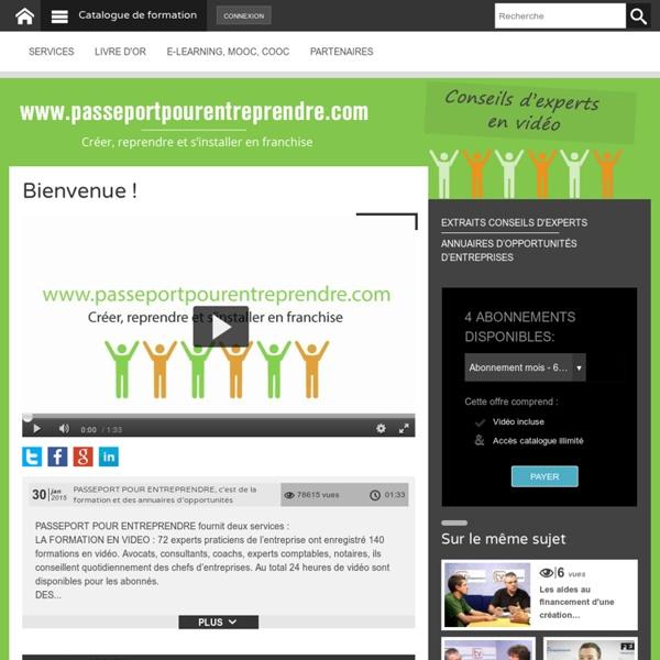 Premier MOOC français sur l'entrepreneuriat