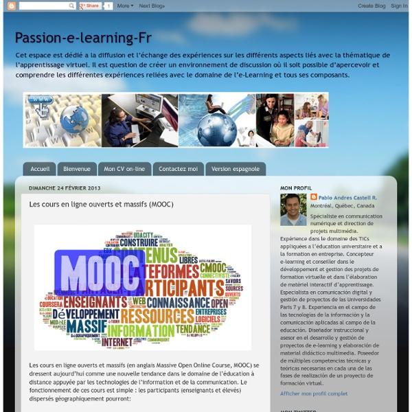 Les cours en ligne ouverts et massifs (MOOC)