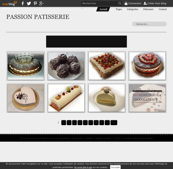 PASSION PATISSERIE -