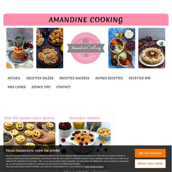 Amandine Cooking - Jeune blogueuse du Nord de la France, passionnée de cuisine et pâtisserie. Je partage à travers ce blog mes recettes, bien souvent faciles et rapides, pour régaler la famille en toutes occasions.