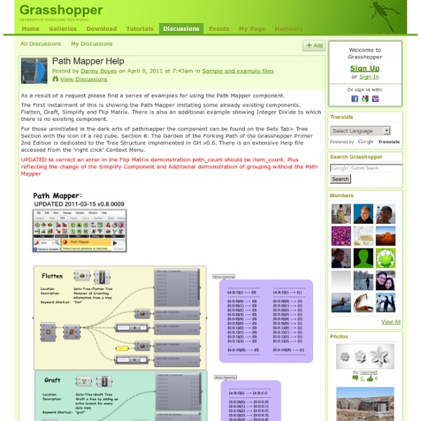 how to choose a path grasshopper