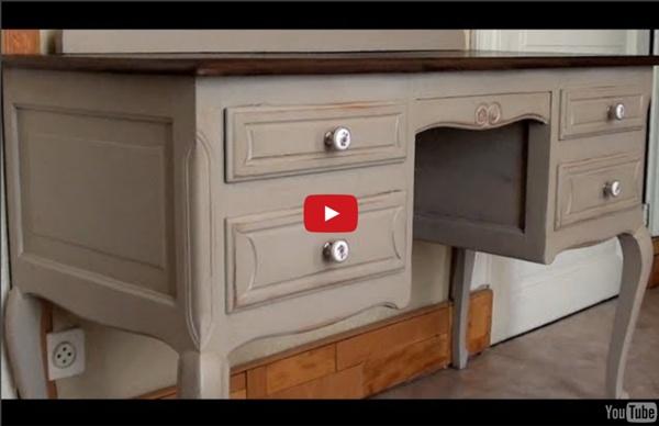 Patine sur meuble ancien // Tutoriel #2 (HD720p)
