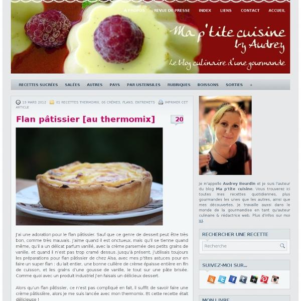 Flan pâtissier [au thermomix]
