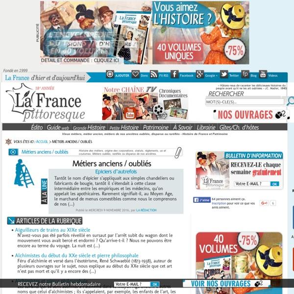 Vieux métiers (La France pittoresque)