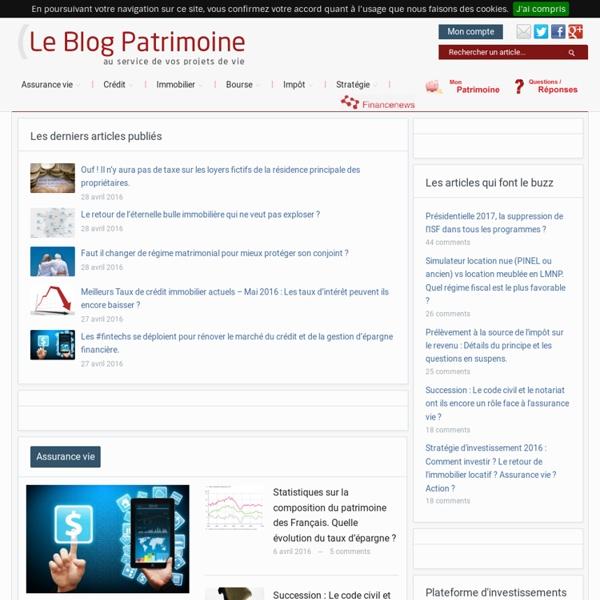 Gestion de Patrimoine - Leblogpatrimoine.com