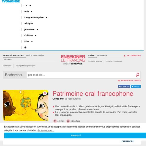 Patrimoine oral francophone
