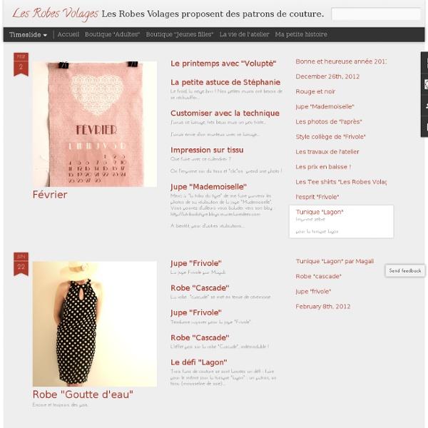 Les Robes Volages - patron de couture