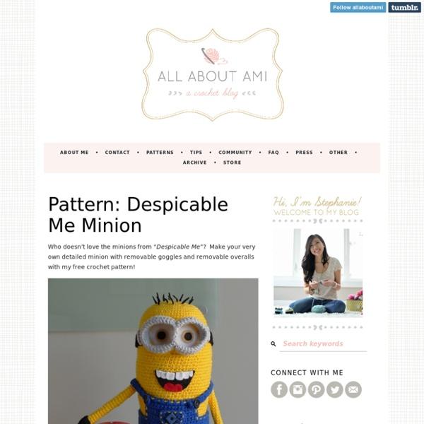 Pattern: Despicable Me Minion
