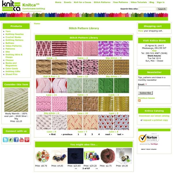 Stitch Pattern Library