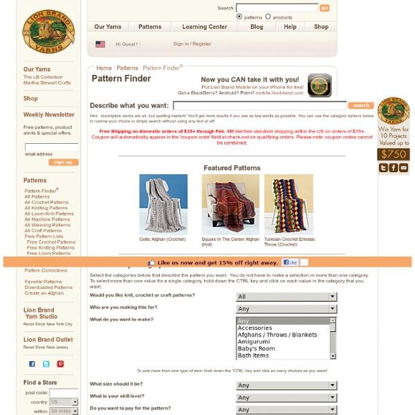 PatternFinder : Pattern Search Engine
