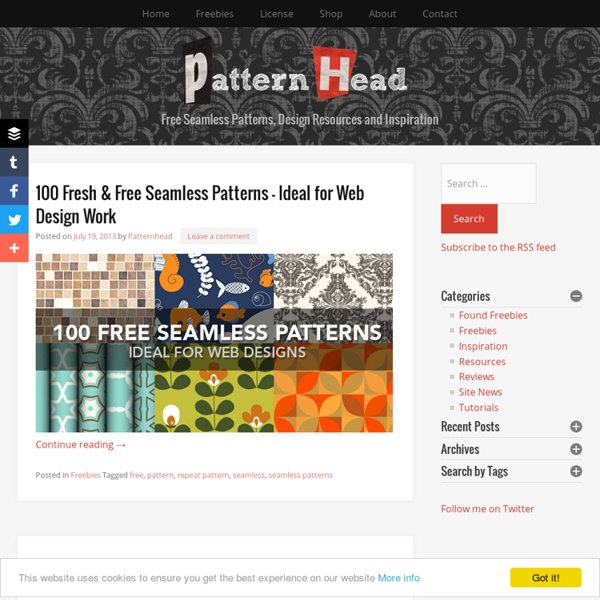 Free repeat patterns, design resources and inspiration from Patternhead