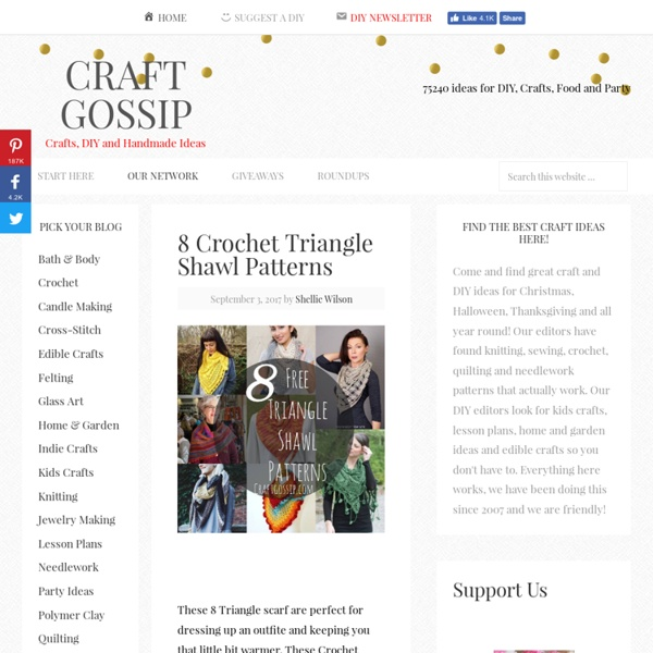 DIY and Handmade Ideas - CraftGossip.com