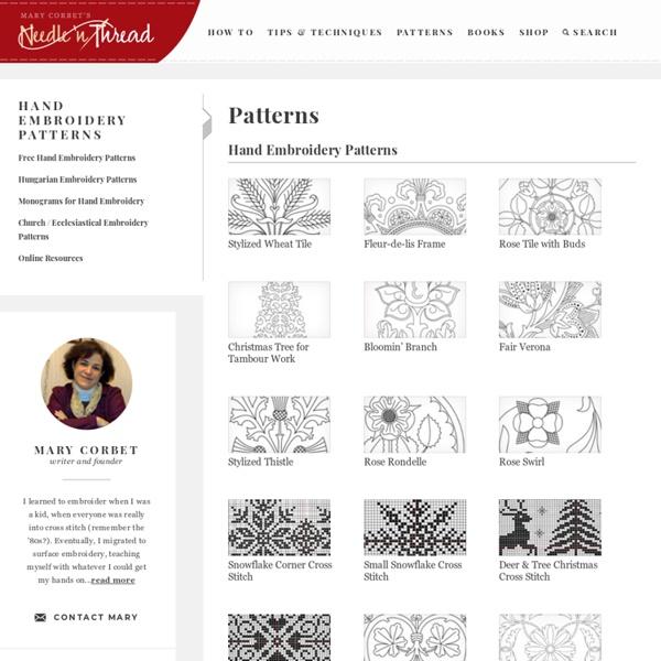 Patterns - Needle'nThread.com
