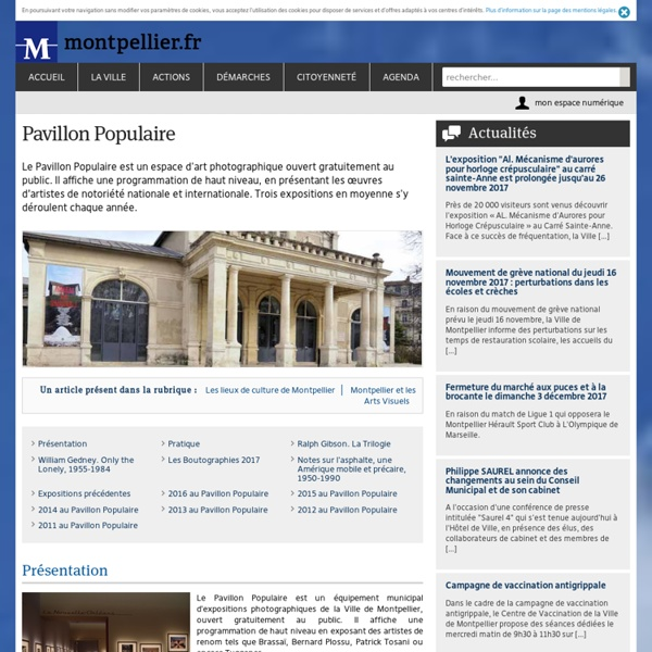 Pavillon Populaire