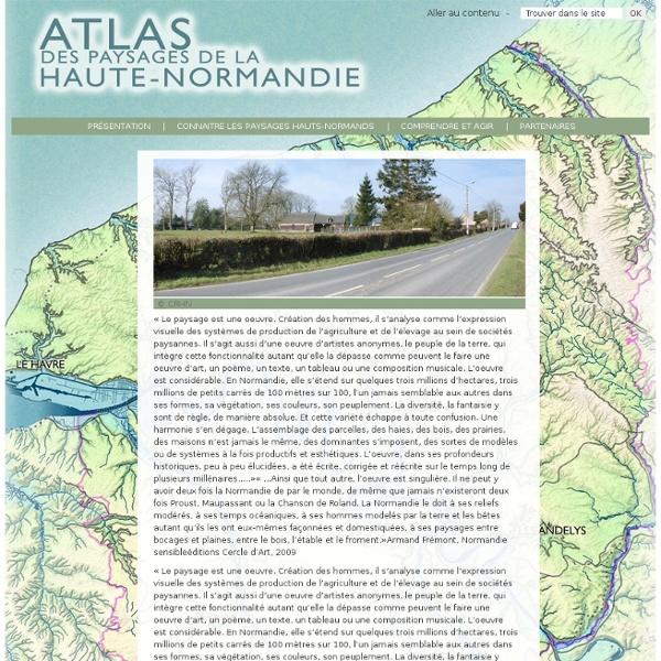 Atlas des paysages de Haute Normandie
