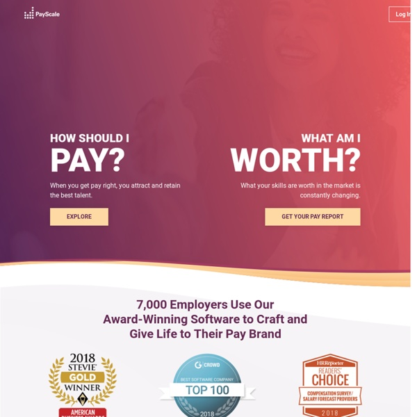 PayScale - Salary Comparison, Salary Survey, Search Wages
