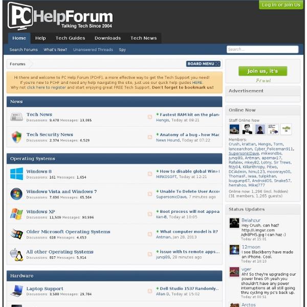 PC Help Forum