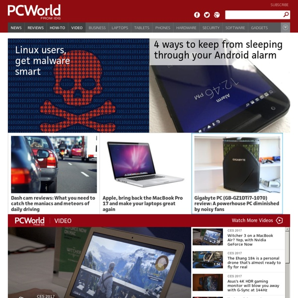 Reviews and News on Tech Products, Software and Downloads - PCWorld
