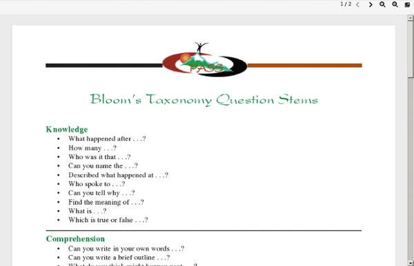 BloomsTaxonomyQuestionStems.pdf