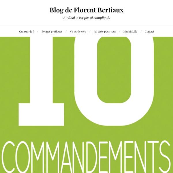 PDF – Les 10 commandements du QR Code via