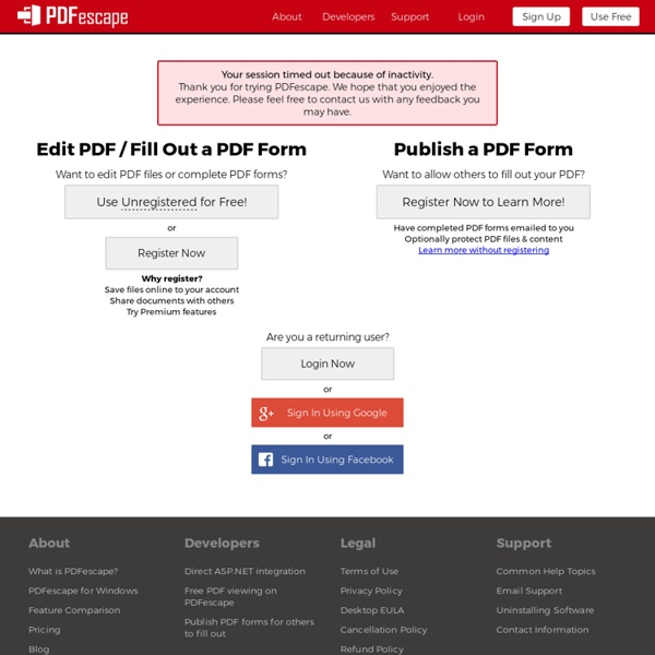 Free PDF Editor & Free PDF Form Filler - Account