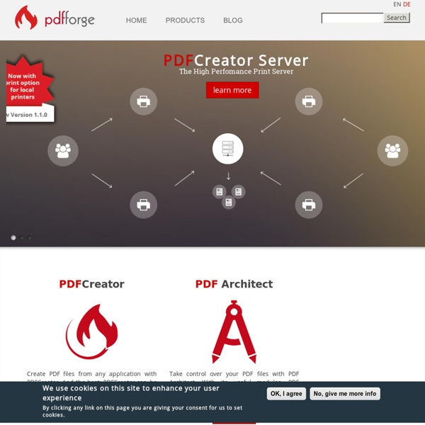 The free PDF Creator, Converter and PDF Editor