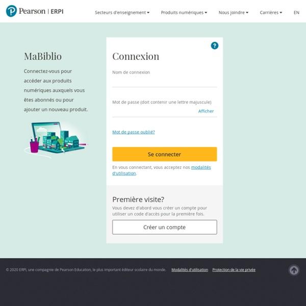 Pearson ERPI - MaBiblio
