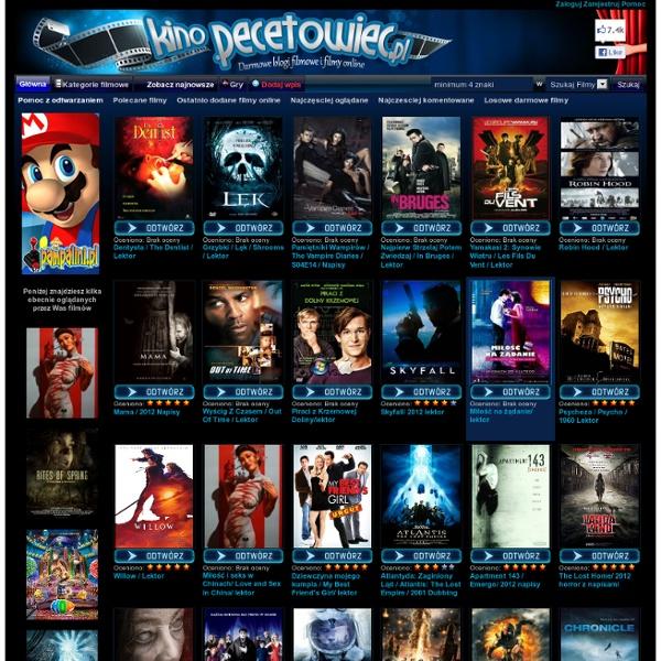 ... KINO.PECETOWIEC.PL filmy online seriale online darmowe filmy online