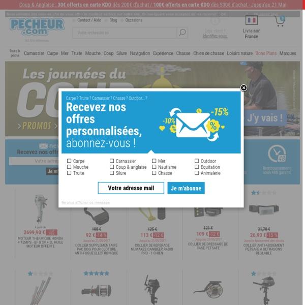 Pecheur.com, la peche, toute la peche, et encore plus que la pêche