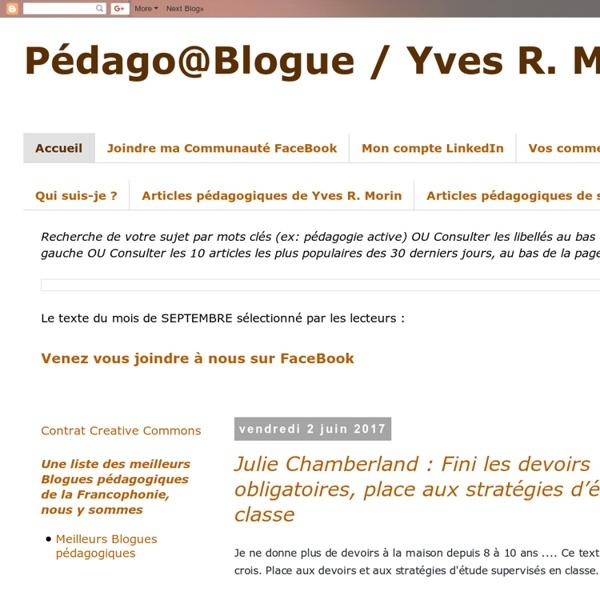 Pédago@Blog