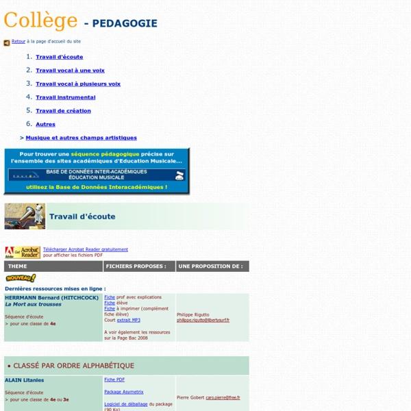 Pédagogie Coll
