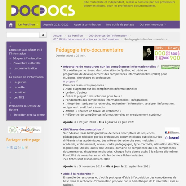 Pédagogie info-documentaire