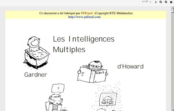 Les Intelligences Multiples en pratique