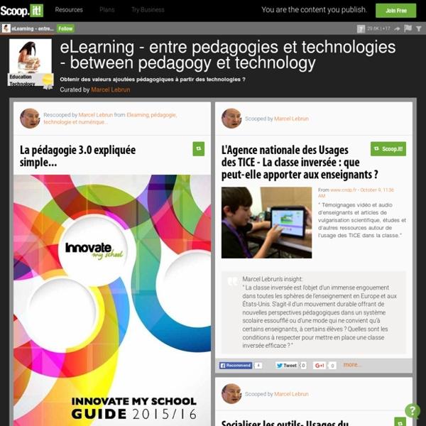 eLearning entre pedagogie & technologie