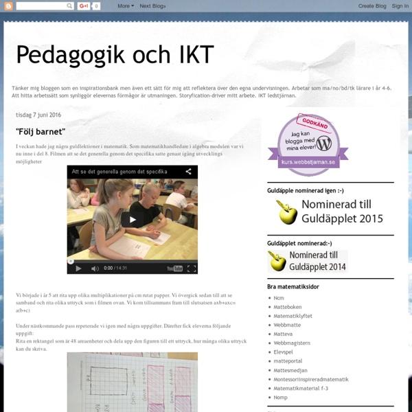 Pedagogik och IKT