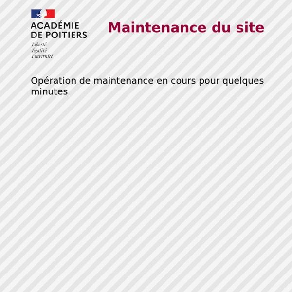 Espace pédagogique - Académie de Poitiers - Toute la pédagogie en 1 clic...