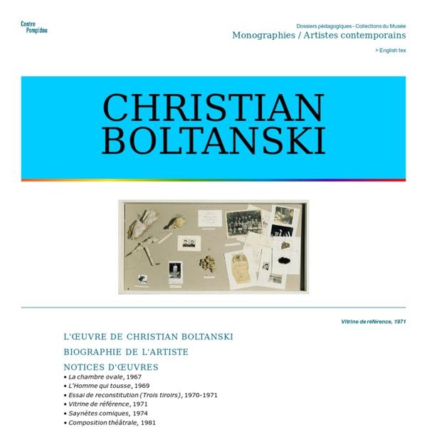 Christian Boltanski et ses oeuvres, par le Centre Pompidou