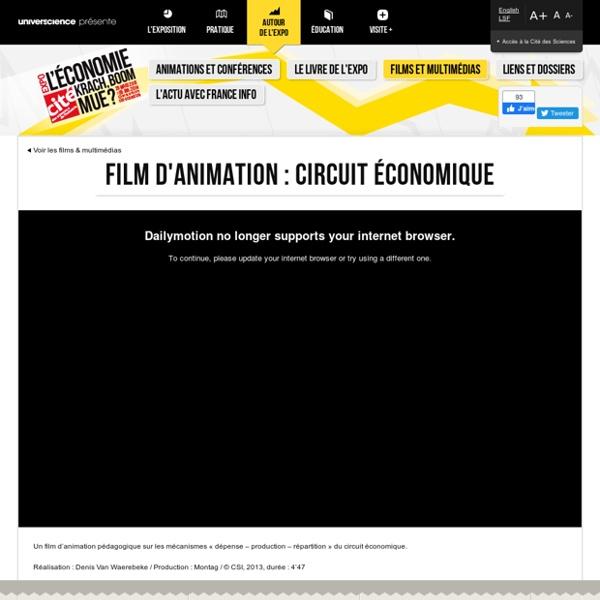 1/ Film d'animation : Le circuit economique