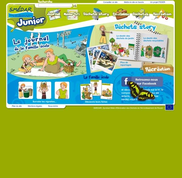 Smedar Junior : projet pédagogique sur l'environnement jeux pour enfants sur les déchets