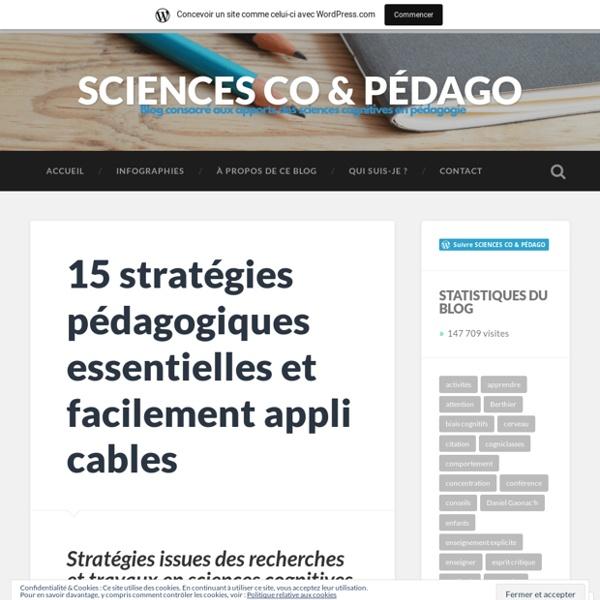 15 stratégies pédagogiques essentielles et facilement applicables – SCIENCES CO & PÉDAGO