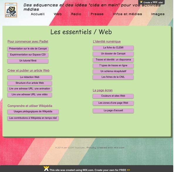Kits pédagogiques du CLEMI Toulouse