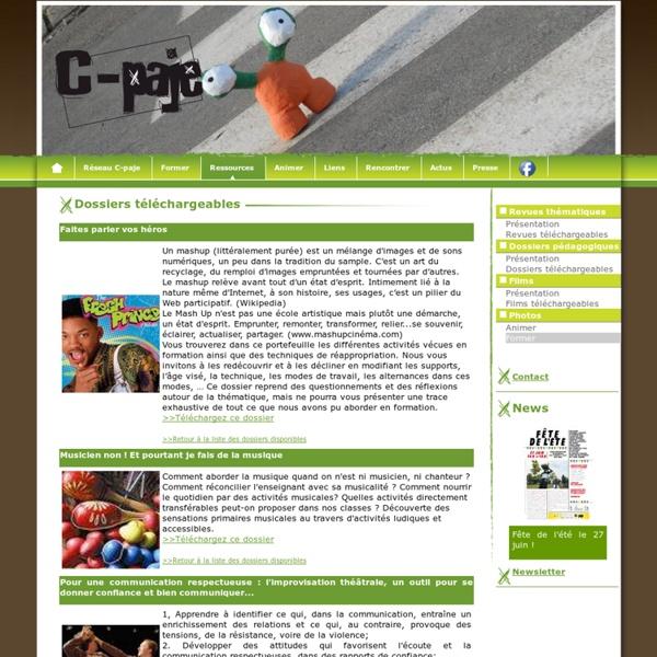 Dossiers pédagogiques téléchargeables - C-paje