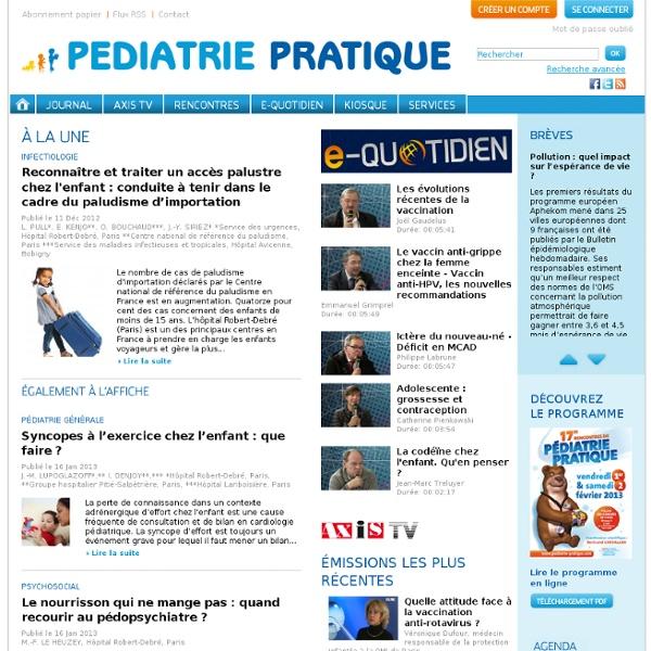Pediatrie Pratique