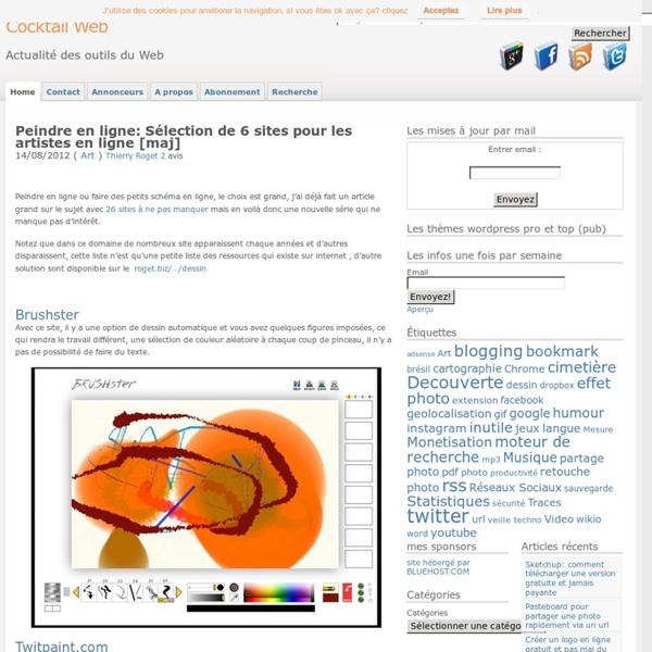 Peindre en ligne une sélection de 10 sites à ne pas manquer