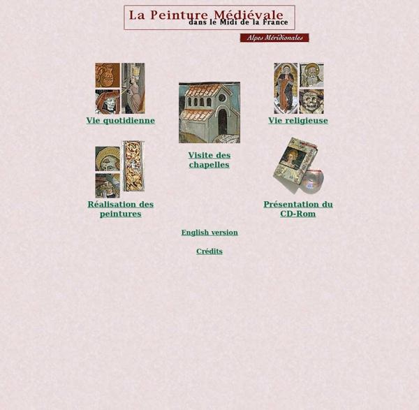 La peinture médiévale dans le Midi de la France