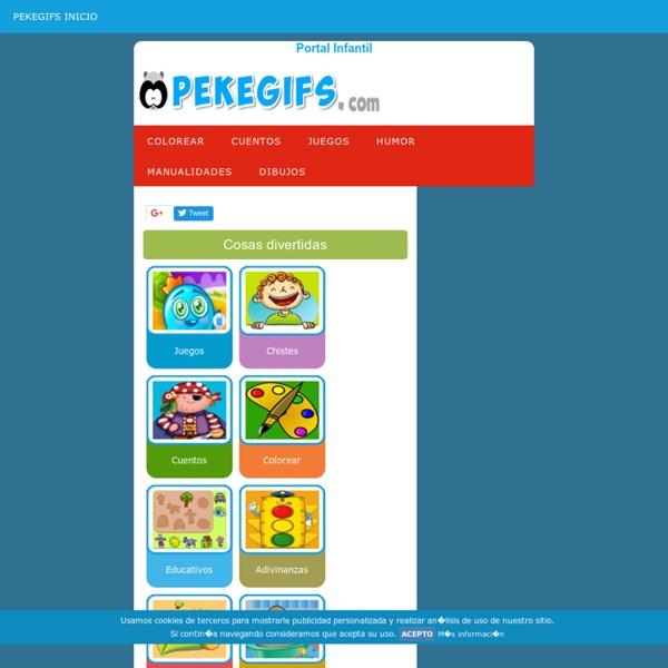 PEKEGIFS Para niños. Juegos para niños y actividades